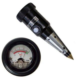 【DM-5】土壌酸度測定器(現場用 湿度測定兼用)