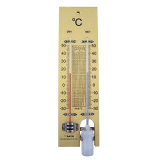 【一般用】乾湿計(−30〜50℃)