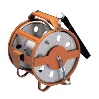 【ロープRケース】ロープ巻取器(測量ロープ用)