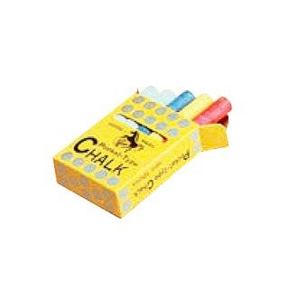 【C310】ポケットチョーク(白×7本 赤・青・黄×1本ずつ)