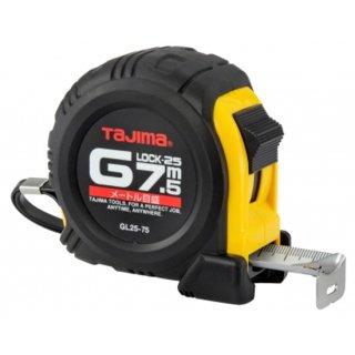 【GL25-75BL】コンベックス Gロック−25