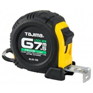 【GL25-75SBL】コンベックス Gロック−25(尺相当目盛り付き)