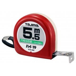 【L19-55SBL】コンベックス ロック−19(尺相当目盛り付き)