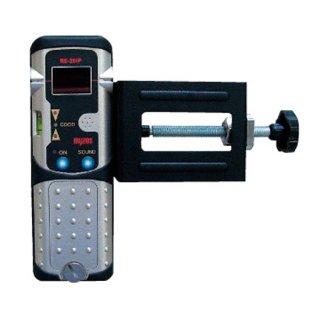 【RE-20IP/RC-2】レーザー墨出器用 受光器+ロッドクランプ(受光器とクランプのセット)