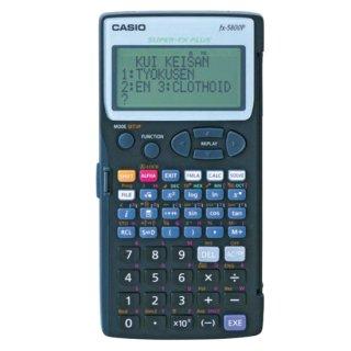 【MX-5800D】測量計算器 電卓君5800 土木(土木プログラム)