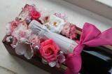 ワインとお花のコラボ