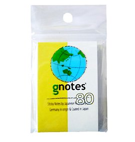 gnotes80:25mmx75mm