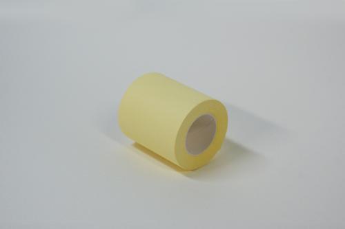 【業務用】大量箱入りロール型ふせん紙60mm幅パステルイエロー