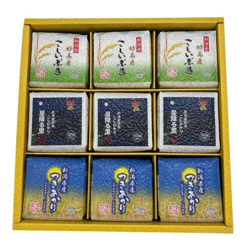 真空パック米 300g×9個 (ギフト・プレゼント) 29年産 新米