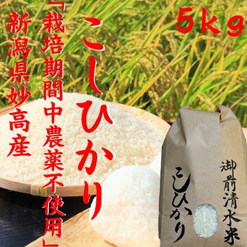 御前清水米-5kg(限定販売)「28年産 新米」