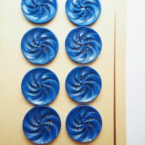 ファンボタン(ブルー)