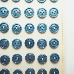 ブルーグレーボタン