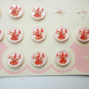 貴婦人ボタン(ピンク)