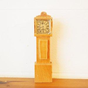 柱時計のミニチュアB