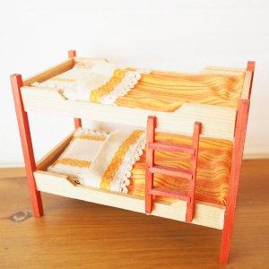 2段ベッドのミニチュア