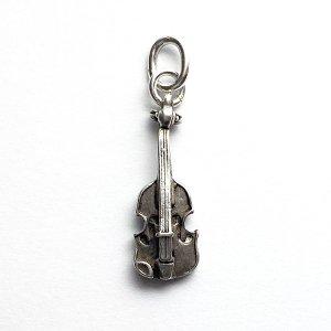 バイオリンのシルバーチャームB