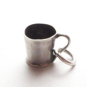 マグカップのシルバーチャームA