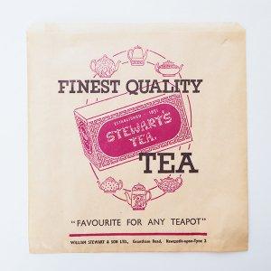 STEWART'S TEA 紙袋