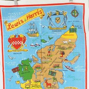 Lewis & Harris のティータオル