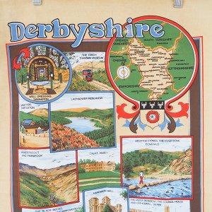 Derbyshireお土産 ティータオル