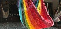 Rainbow 『V-WAVE コットンチェアハンモック』 (レインボー ブイウェーブコットンチェアハンモック)