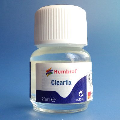 Hunbrol(ハンブロール)- Clearfix (クリアーフィックス) (高透明度接着剤)