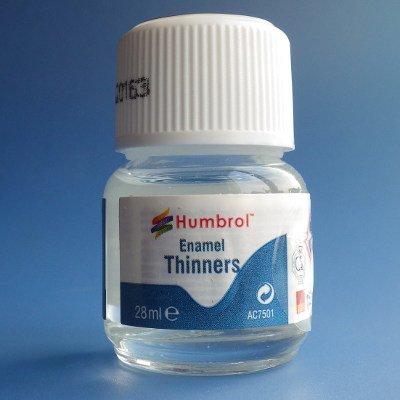 Humbrol(ハンブロール)- エナメルシンナー28ml(希釈用)
