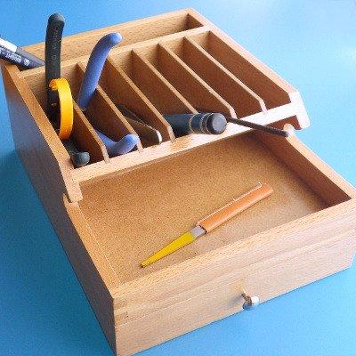 G PARTS 卓上ツールボックス2(木製)