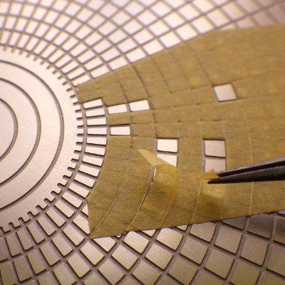 VOYAGER MODEL(ボイジャーモデル)マスキングカット用テンプレート3(曲線)