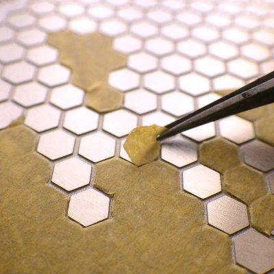 VOYAGER MODEL(ボイジャーモデル)マスキングカット用テンプレート5(六角形)