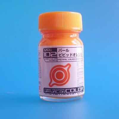 ガイアカラー VO-102 パールビビットオレンジ (バーチャロンカラー 15ml入)
