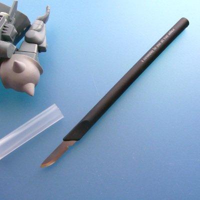 アレックス- K-1 スカルペルナイフ (安全キャップ付)
