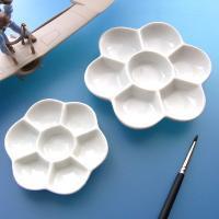 梅皿 各種(筆塗装用陶器製パレット)