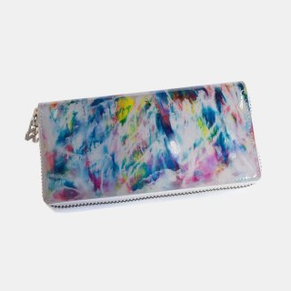 macromauro<br>paint gray wallet M<br>White Line(C)
