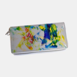 macromauro<br>paint gray wallet M<br>White Line(D)