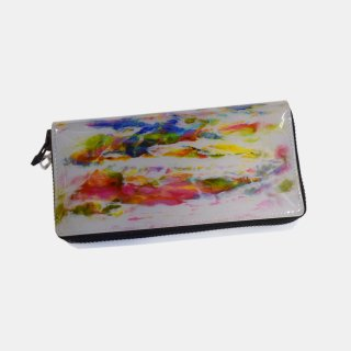 macromauro<br>paint gray wallet M<br>White Line(G)