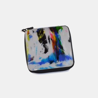 macromauro<br>paint gray folio wallet (C)<br>