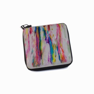 macromauro<br>paint gray folio wallet<br>Black Line(A)