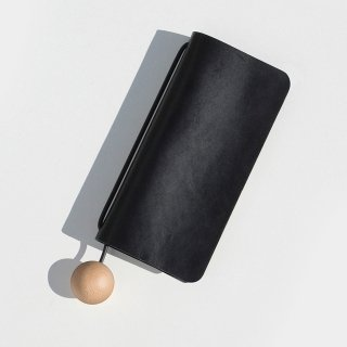 BUILDING BLOCK<br>Book Wallet in Black