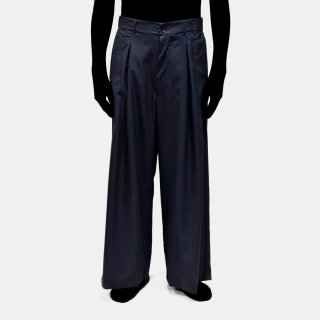 VOAAOV<br>tropicalwool baggy pants / -Dre-