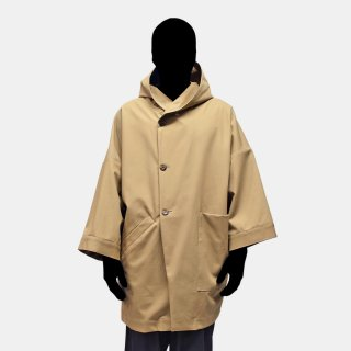 VOAAOV<br>hooded midle coat / -Smooth-