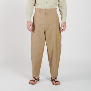 HOUSE OF THE VERY ISLAND'S...<br>THIGH WIDE PANTS (SAND)