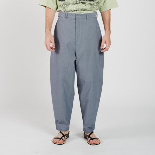 HOUSE OF THE VERY ISLAND'S...<br>THIGH WIDE PANTS (BLUE GREY)