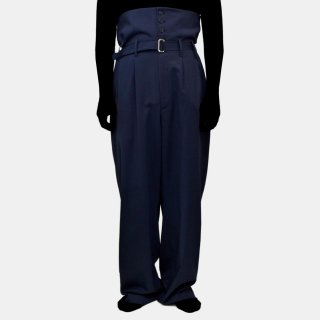 HED MAYNER<br>HIGH WAISTED PANTS<img class='new_mark_img2' src='//img.shop-pro.jp/img/new/icons2.gif' style='border:none;display:inline;margin:0px;padding:0px;width:auto;' />