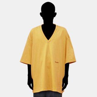 VOAAOV<br>cotton V-neck BIG tee