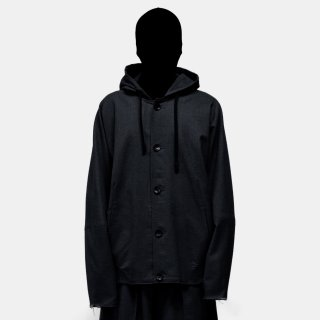 VOAAOV<br>wool hooded blouson