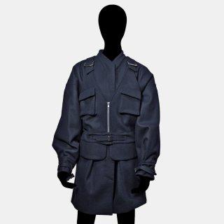 AKIKO AOKI<br>Army short coat