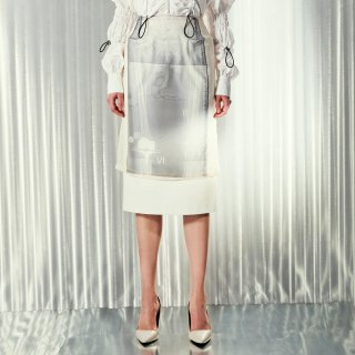 AKIKO AOKI<br>scanning skirt<img class='new_mark_img2' src='https://img.shop-pro.jp/img/new/icons41.gif' style='border:none;display:inline;margin:0px;padding:0px;width:auto;' />