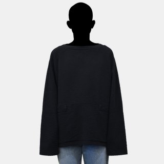 CRAIG GREEN<br>LINE STITCH SLASH NECK SWEATSHIRT