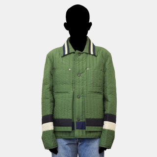 CRAIG GREEN<br>PANELLED QUILTED WORKER JACKET